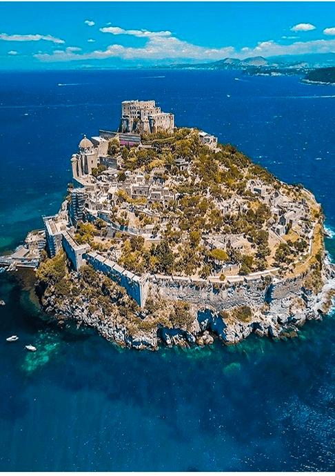 Isola di Ischiia - Castello Aragonese